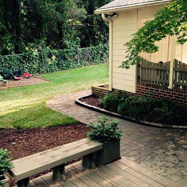 A Sharper Image Patio Area Remodeling in Guilford County