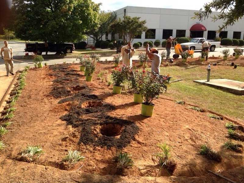 A Sharper Image Commercial Landscaping in Guilford County