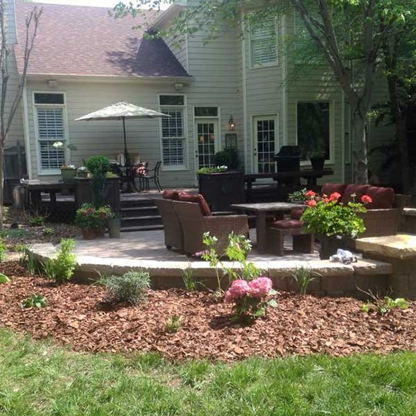 A Sharper Image Backyard Landscaping in Guilford County