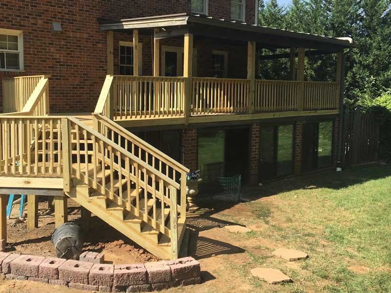 Decks, patios and remodeling A Sharper Image Inc